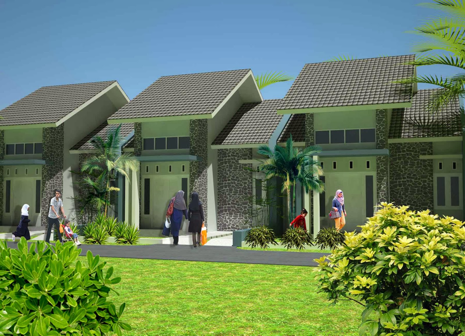 Rumah Minimalis T49 dilahan minim Kota Blitar