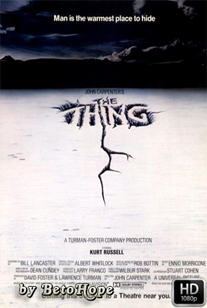 La Cosa del Otro Mundo (The Thing) 1982 [1080p] [Castellano-Ingles] [MEGA]