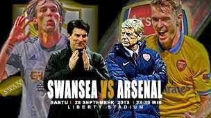Swansea Vs Arsenal 28 September 2013