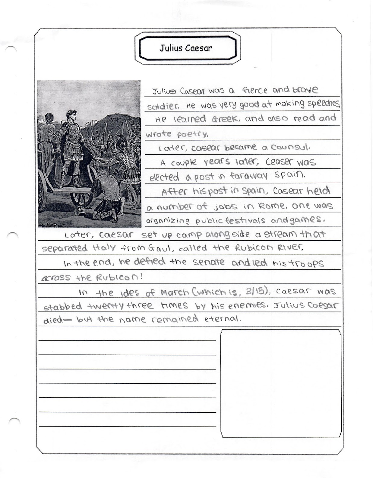 worksheet Julius Caesar Worksheets home su cool 1st grade rome to reformation week 2 julius caesar we read augustus caesars world on cicero mark antony why is july and the starting of civil war