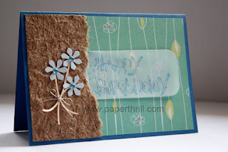 Handmade birthday cards daisies flowers
