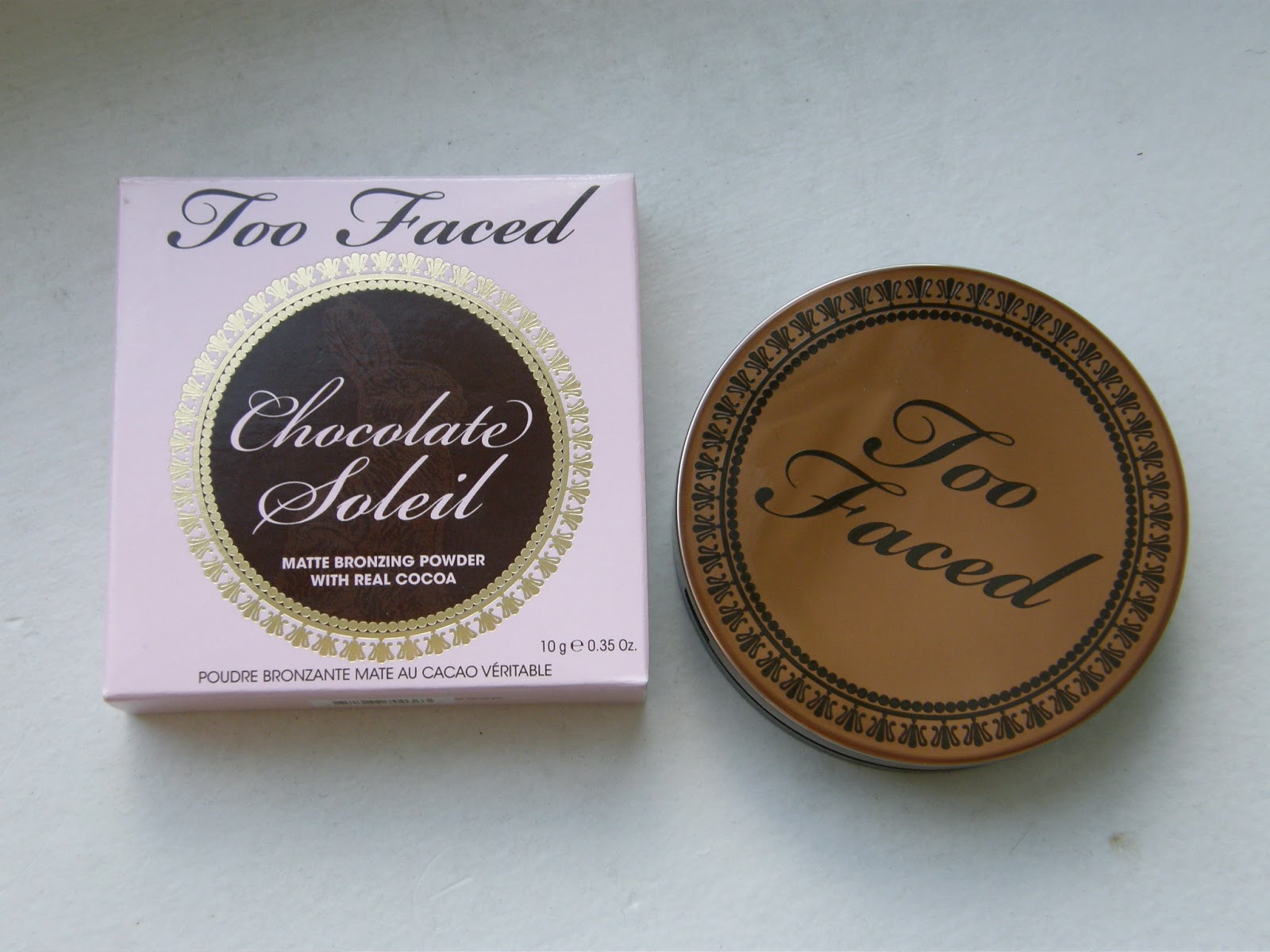 Thrift Thick: Too Faced Chocolate Soleil Matte Bronzing Powder ...