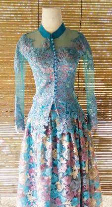 Gaun kebaya, kebaya modern, baju kebaya modern