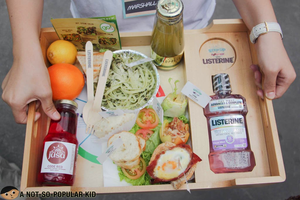 Step Up Your Food Trip with Listerine