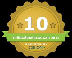 Cision har rankat årets trädgårdsbloggar 2015
