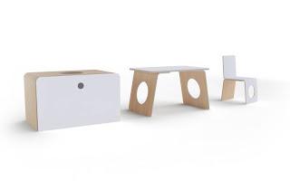 col·lecció mobles per nens disseny belga