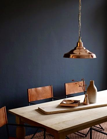 Copper dining