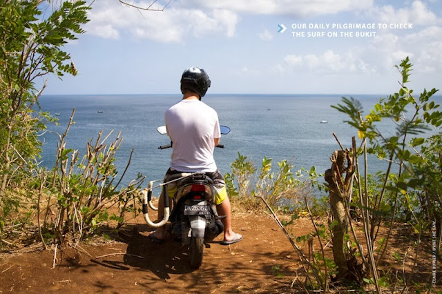 Surf check on the Bukit Peninsula, Bali (Photo: Claire Butler, What She Saw)