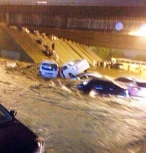 Mekah Dilanda Banjir Dan Hujan Lebat