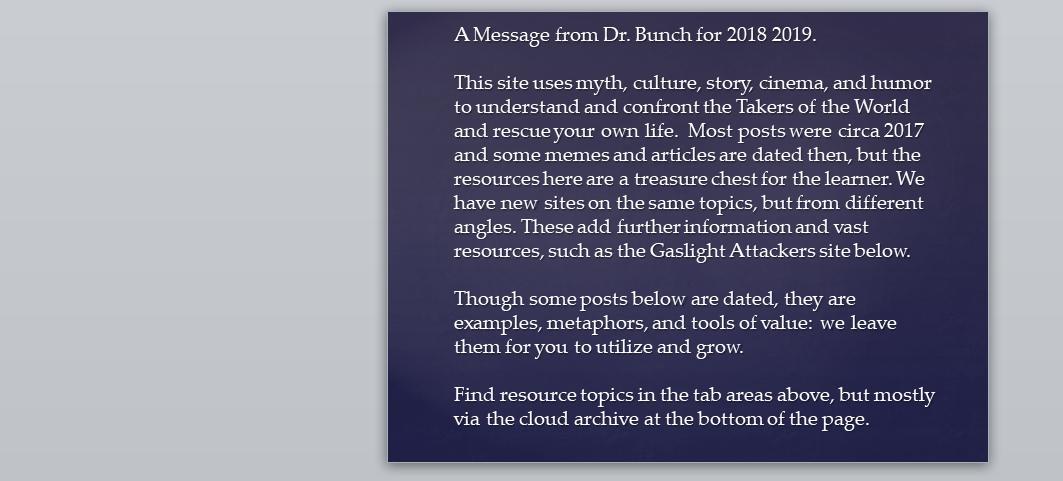 2019 message