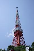 今住んでいる家の周辺から、時折眺めることができる東京タワー。 (img )