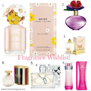 Fragrance Wishlist!