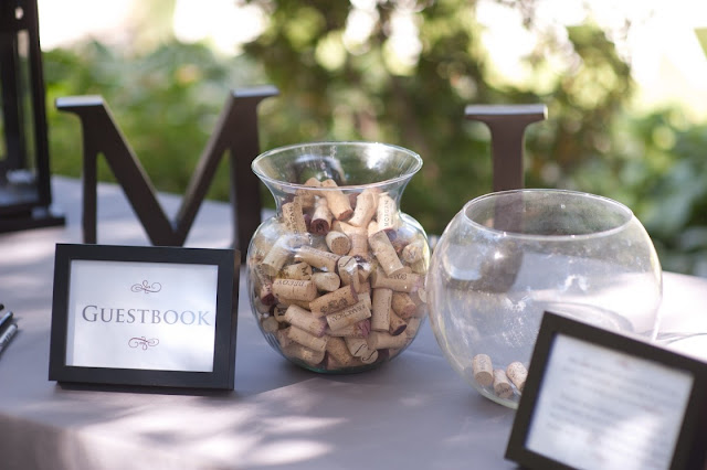 Wine Cork Guest Book Minneapolis Wedding