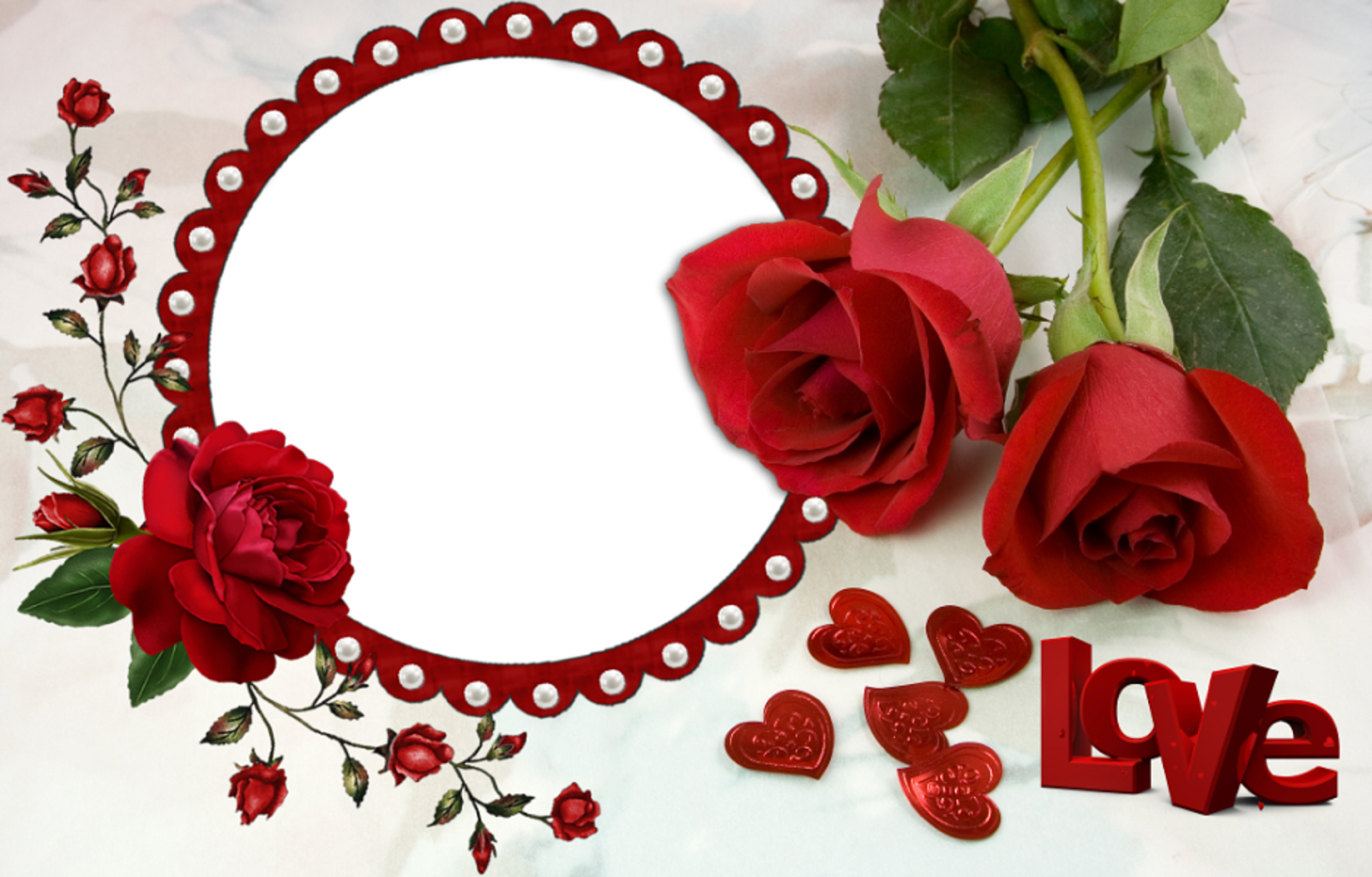 Love photo frames download free