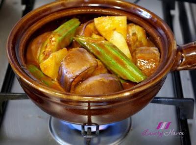 how to cook nyonya assam pedas in claypot