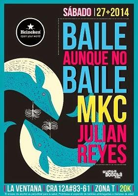 Poster Baile Aunque No Baile