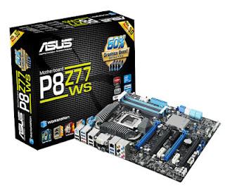 ASUS motherboard P8Z77-V Deluxe