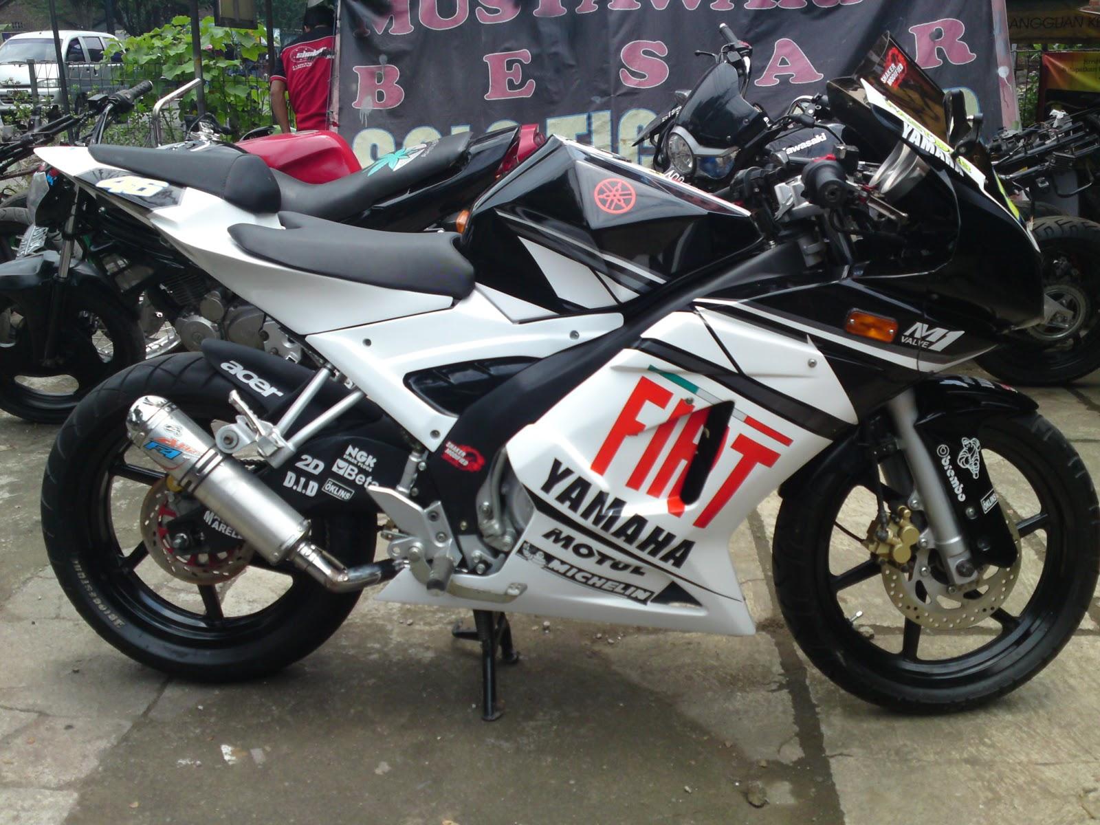 Yamaha Vixion Modifikasi Konsep M1 GP title=