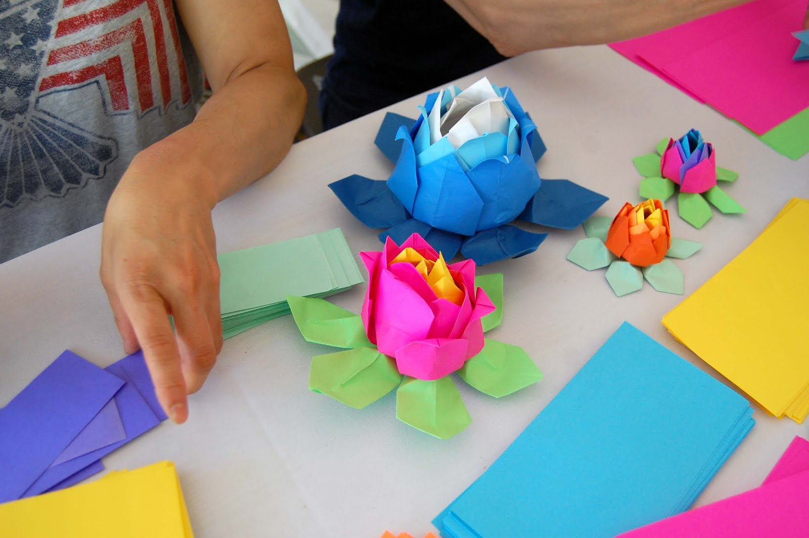 Lotus Origami Project