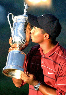 Tiger Woods U.S. Open winner