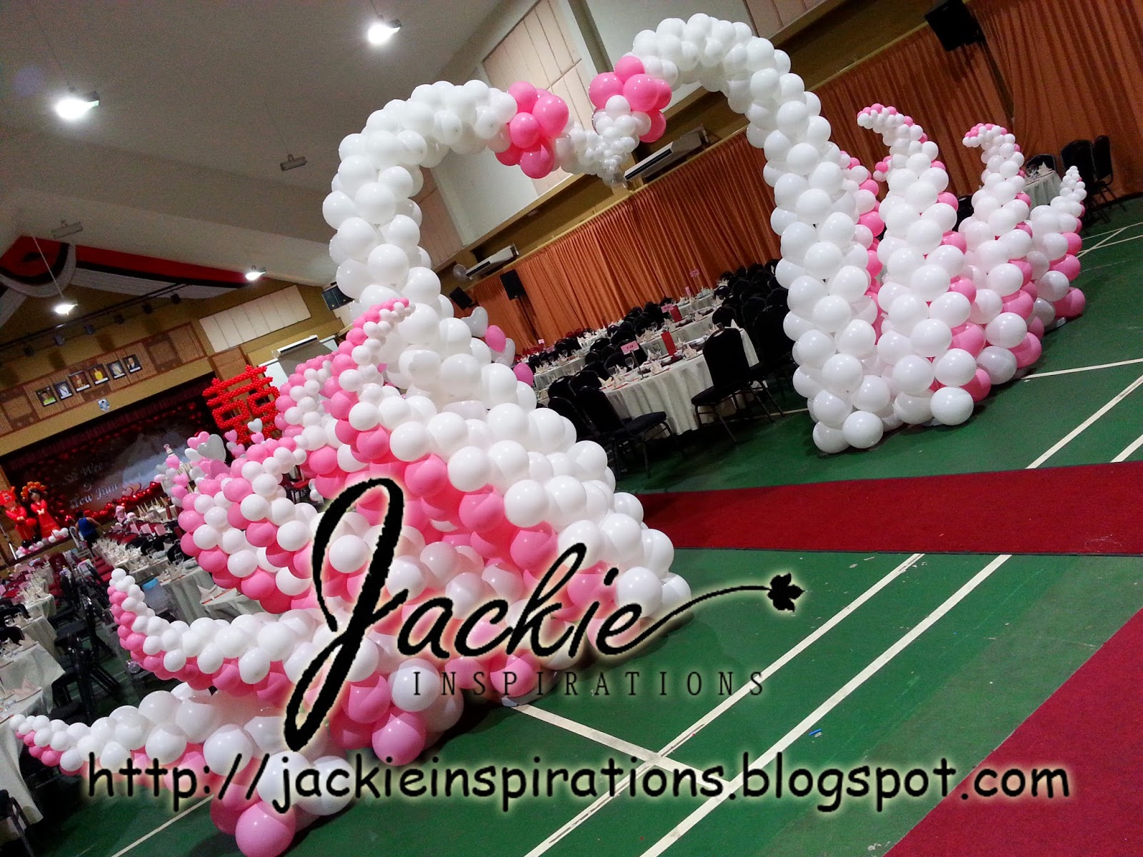 Balloon decorations for weddings birthday parties balloon wedding decoration dbna kuching junglespirit Choice Image