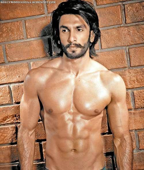 Ranveer Singh's Six Pack Abs HD Pics