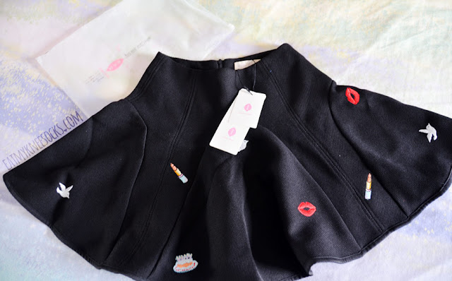 Brandedkitty Shop's embellished Korean skort is from a brand called Mumu House and comes with all original tags.