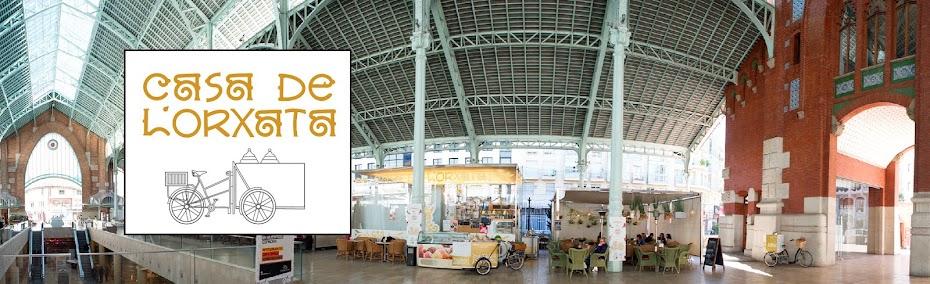 Casa de l´Orxata. Horchateria BioGelateria eco.Mercado Colón Valencia.Horchata sin gluten-lacteos
