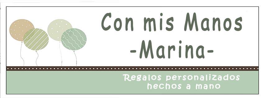 Con mis manos-Marina