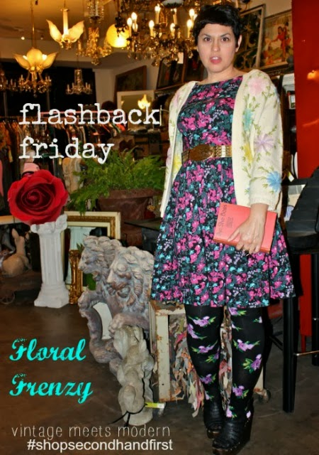 Flashback Friday: Floral Frenzy