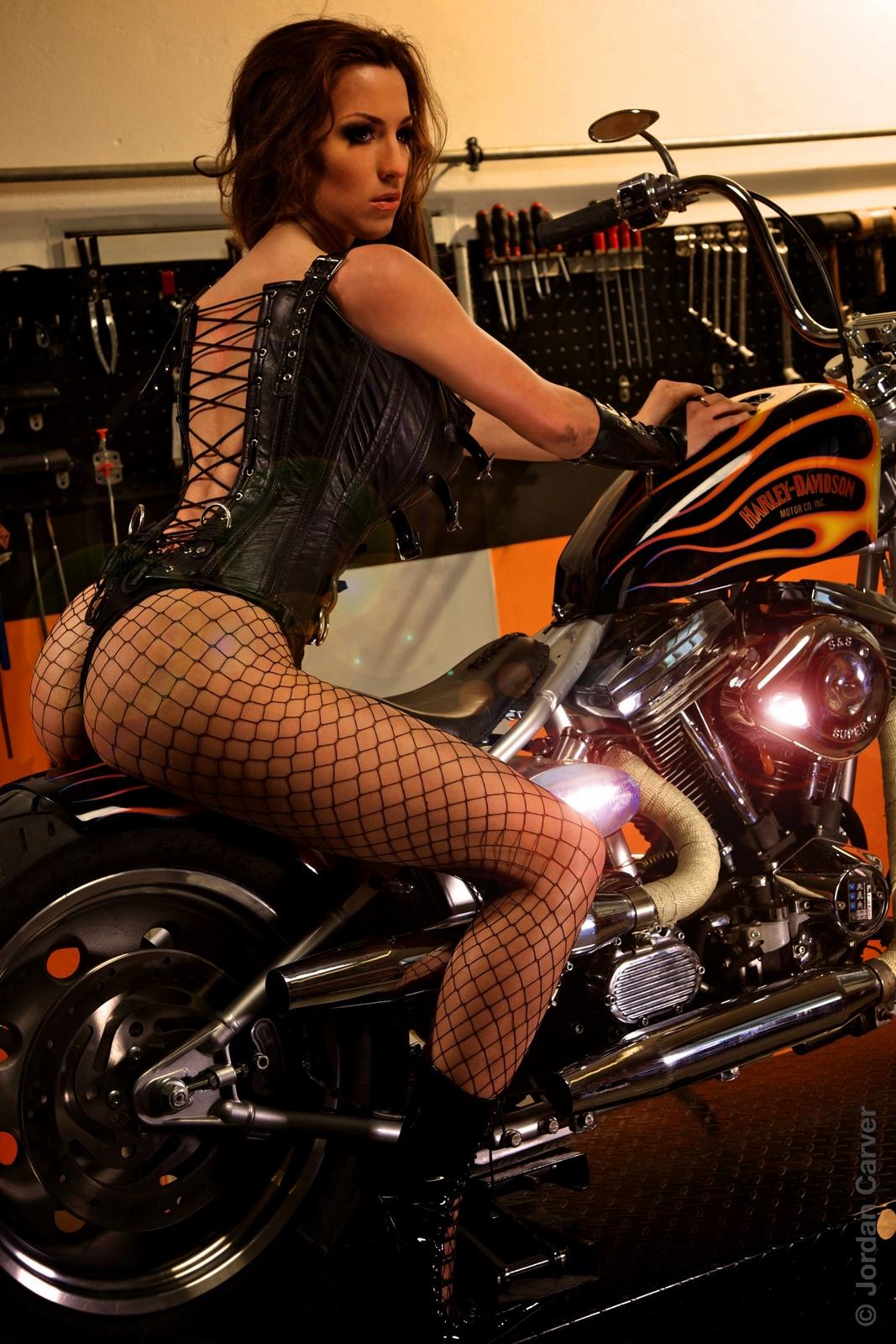 Jordan Carver Biker Girl I