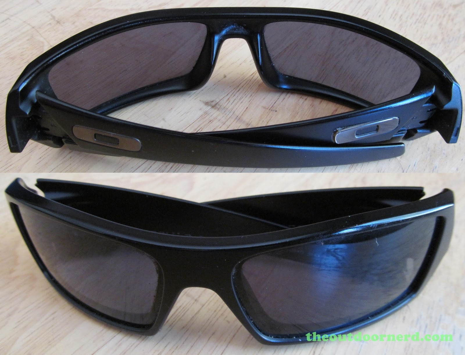 oakley sunglasses 1990s  oakley gascan sunglasses: split view