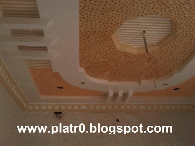 Dicor Placoplatre : Platre beldi simple décoration maroc faux