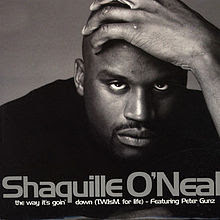 Shaquille O' Neal – The Way It's Goin Down (TWIsm For Life) – CDM UK – 1998