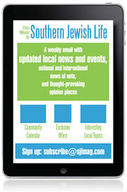 Weekly Email: This Week In Southern Jewish Life