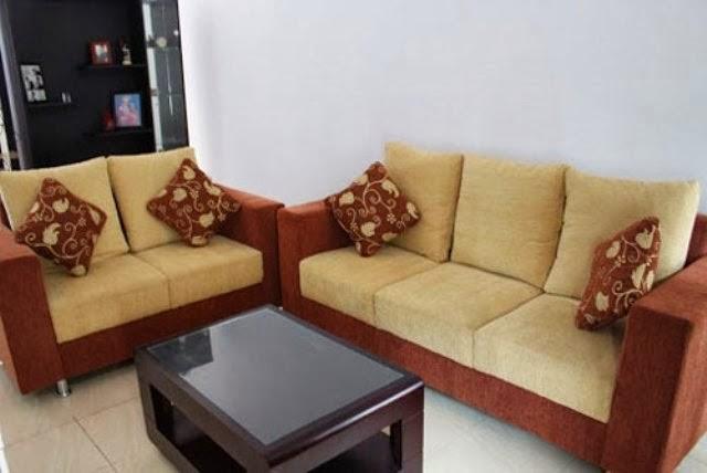 Bentuk-bentuk sofa ruang tamu 6