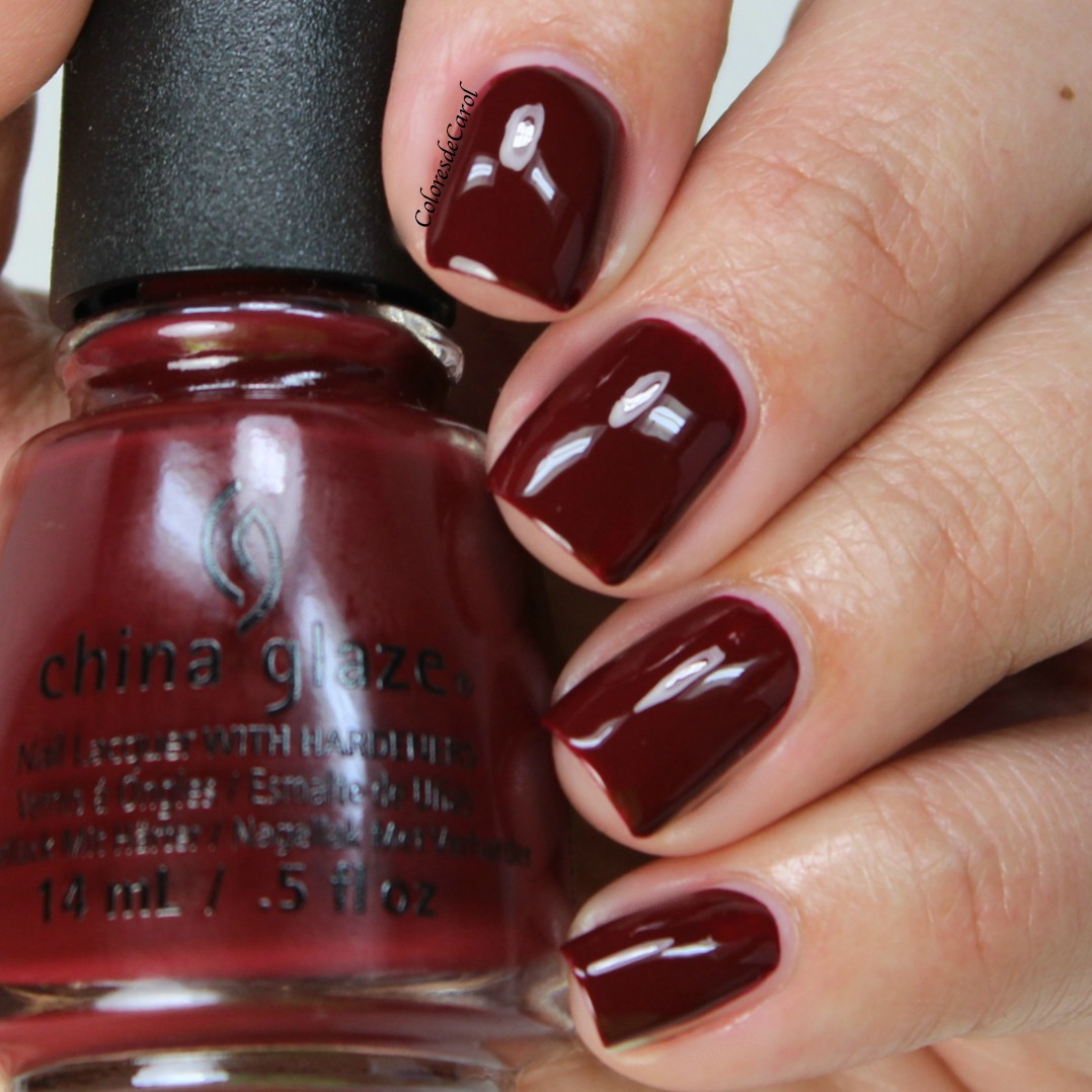 Colores de Carol: China Glaze Cheers! Collection, Swatches and Review