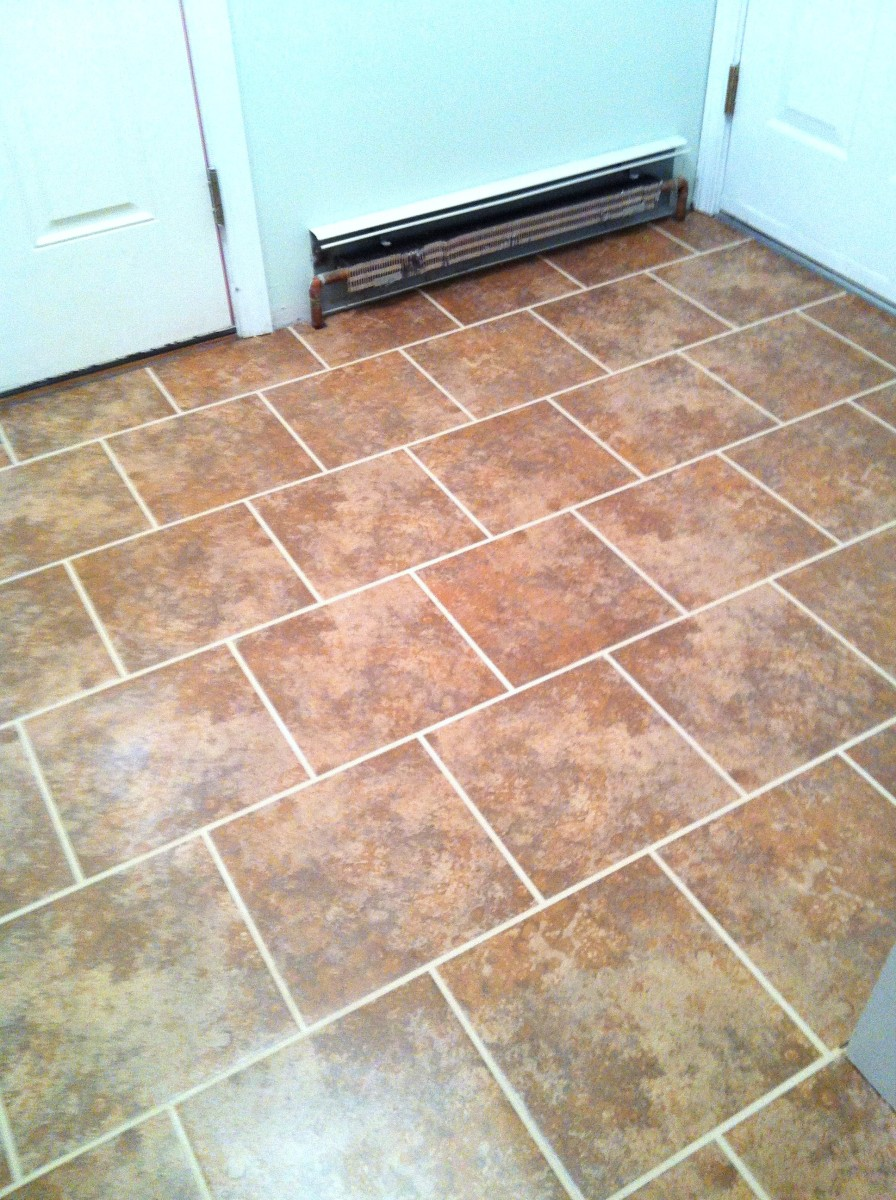 Foyer Tile Grout : Heart maine home entryway evolution part two