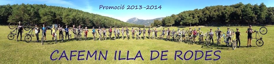 CAFEMN ILLA DE RODES 2013-2014
