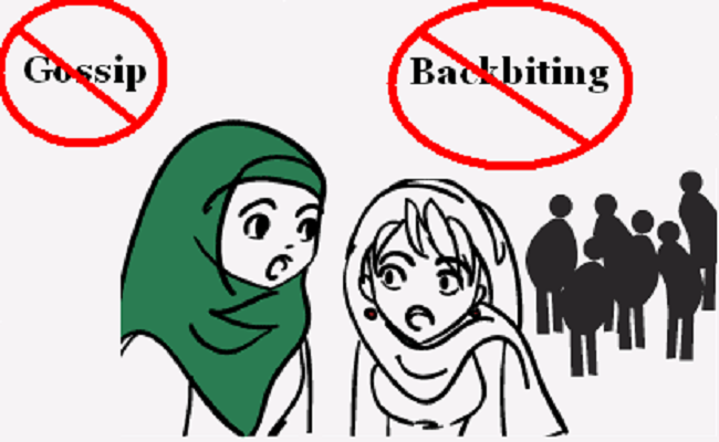 Backbiting is major sin in Islam. Avoid it