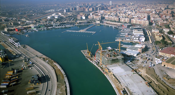 Valencia preparada para los cruceros a italia - Laydown puerto valencia ...