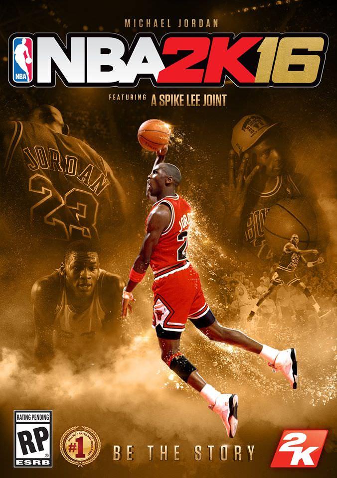 NBA 2k16 Michael Jordan Special Edition Cover Hoopsvilla.com