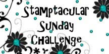 Stamptacular Sunday Challenge