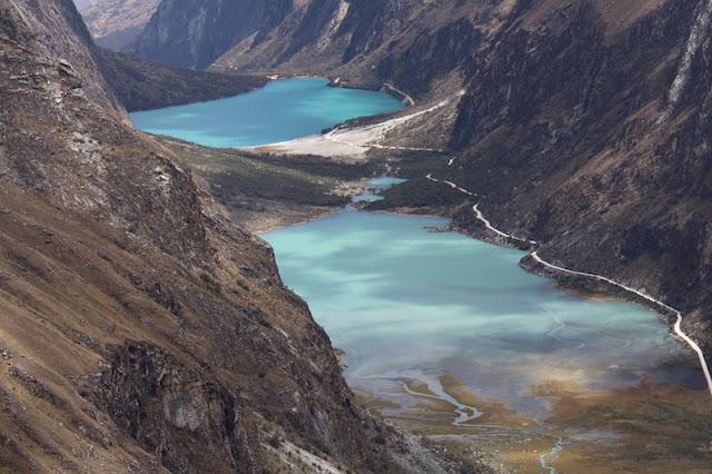 Portachuelo - Avistando as Lagoas Llanganuco