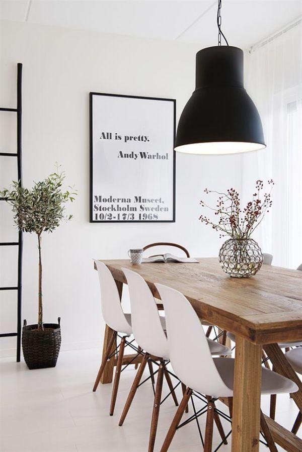 Comedores con encanto la garbatella blog de decoraci n - Comedor nordico ...