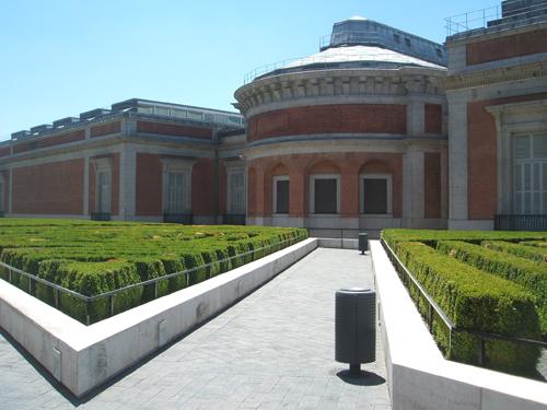 Jard n de boj del museo del prado paisaje libre for Jardines del prado