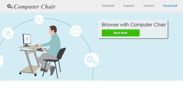 Computer Chair - Virus