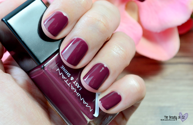 Manhattan Last And Shine Swatches DARK DANCE