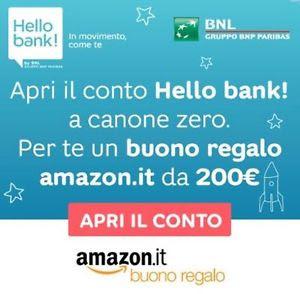PROMOZIONE HELLO BANK