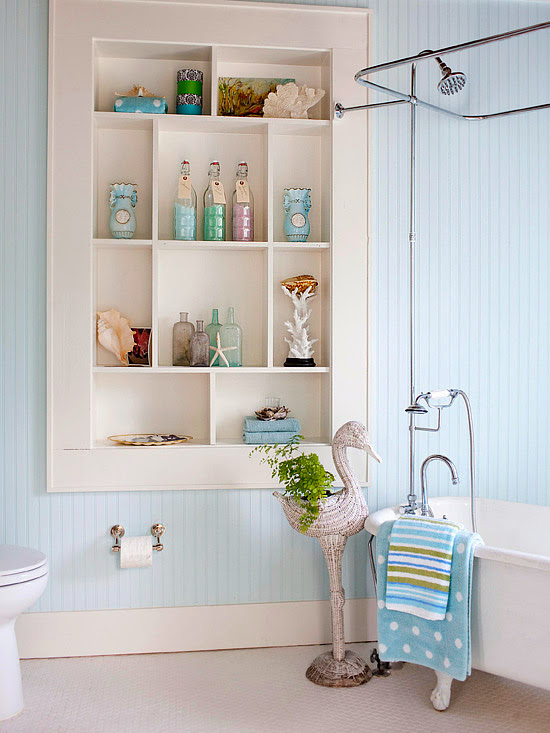 Bathroom Shelving Between Studs